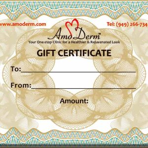 Amoderm Gift Certificates