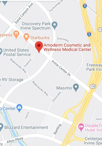 Amoderm Cosmetic and Wellness Medical Center address: 18 Endeavor, Suite 200, Irvine, CA, 92618, USA
